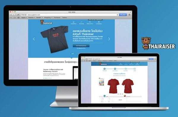 ออกแบบเว็บไซต์ thairaiser