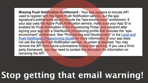 Missing-Push-Notification-Entitlement