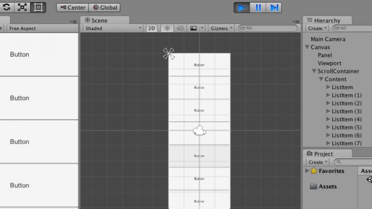 ทำแอพด้วย Unity2D Canvas ตอน : List View - บริษัท โค๊ดบี จำกัด