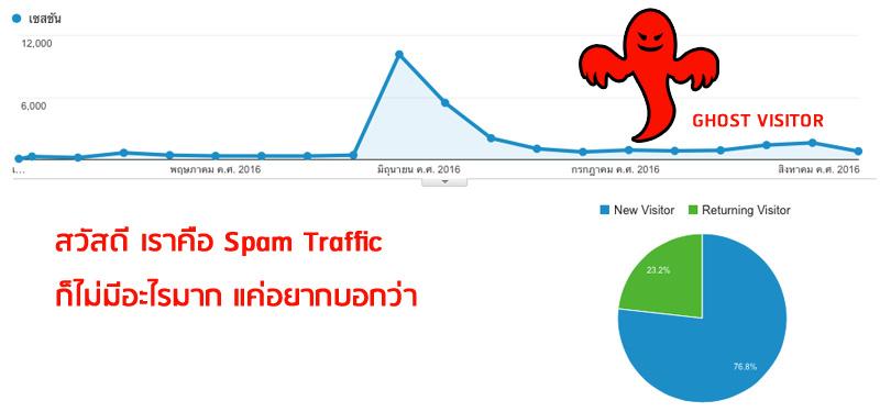 Remove Spam Traffic กำจัดรายงานที่ผิดพลาดใน Analytics