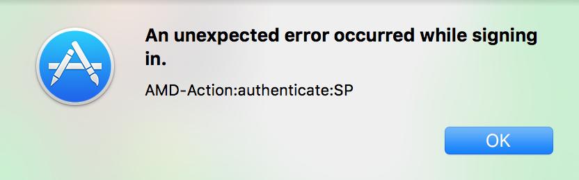 เข้าระบบ App Store ไม่ได้