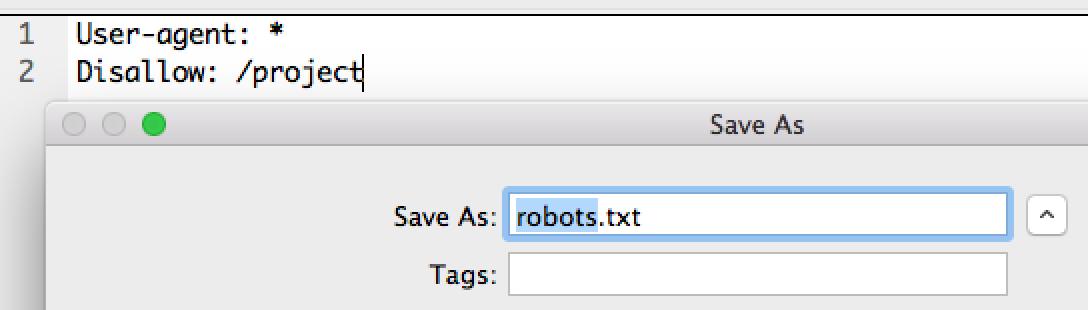 วิธีสร้างไฟล์ robots.txt