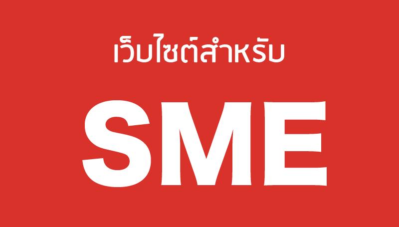 เว็บไซต์สำหรับธุรกิจ-sme