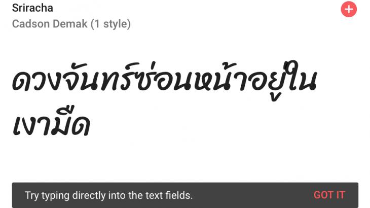 วิธีใช้งาน-google-font-ภาษาไทย