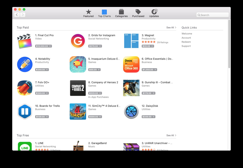 แอพพลิเคชั่น-app-store-บนแมค