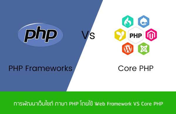การพัฒนาเว็บไซต์-ภาษา-PHP-โดยใช้-Web-Framework-VS-Core-PHP