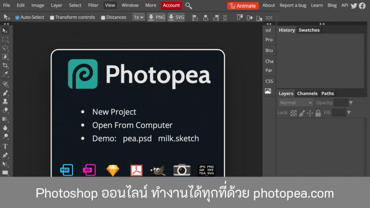 Photoshop-ออนไลน์-ทำงานได้ทุกที่ด้วย-photopea-2